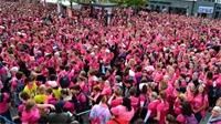 Courir en rose pour la bonne cause