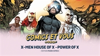 X-Men House of X –Power of X : un récit inattendu aux idées novatrices