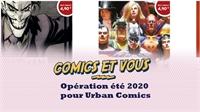 Opération été 2020 pour urban Comics