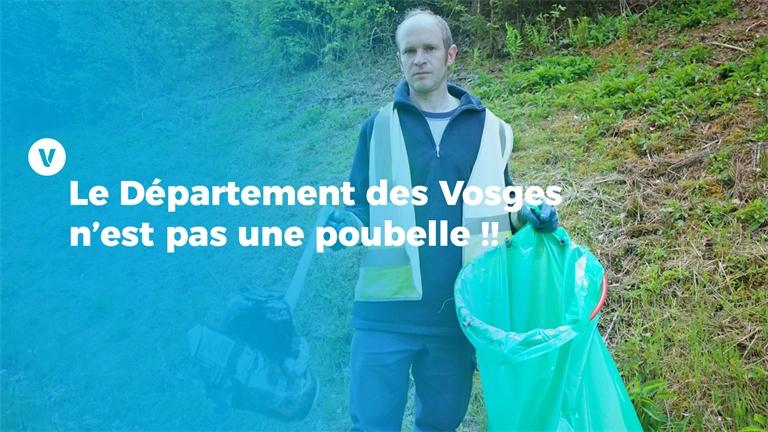 Le Département des Vosges n'est pas une poubelle !