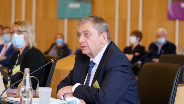 François Vannson, réélu président du Conseil départemental des Vosges