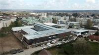 Diaporama : 20 millions de travaux au collège Elsa Triolet