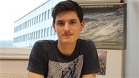 Louis, éco-ambassadeur au lycée Lurçat de Bruyères