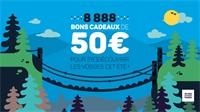 Les Vosges font gagner 8 888 bons cadeaux de 50€ !