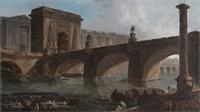 Les monuments de Paris vus par le peintre Robert