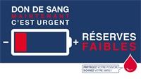 Besoin urgent de dons de sang : L'EFS tire la sonnette d'alarme