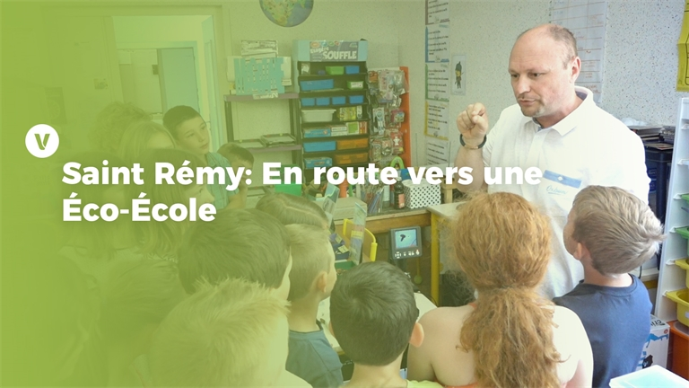 Trophées de la transition écologique: Saint-Remy en route vers une Éco-École !