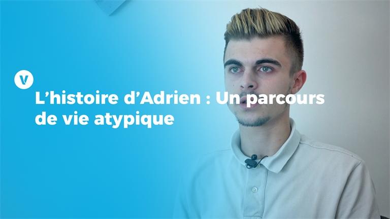 L'histoire d'Adrien : Un parcours de vie atypique