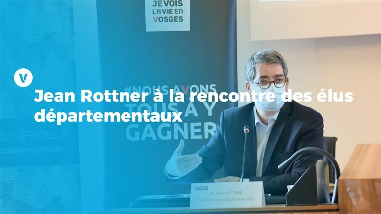 Jean Rottner à la rencontre des élus départementaux